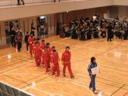 2009年12月16日~20日 東京調布市で行われたーブラインドサッカーアジア選手権で激戦の中、1位通過を果たした中国選手団の入場。