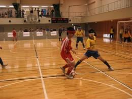 試合風景 この後、中国代表選手による見事なシュートが決まりました。 試合結果は3-0で中国代表チームが勝利しました。